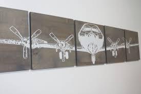 12x 60 military aviation art vintage ww2