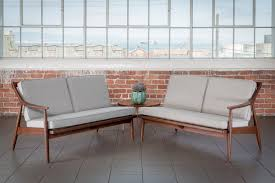 the mesone grey mid century sectional sofa pieces by violet