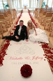 wedding runners wedding aisle decor aisle runner ideas personalized cloth