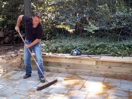 building a paver patio how tos diy