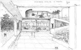 villa savoye le corbusier sketch le corbusier villa savoye