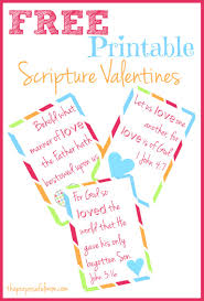 free scripture themed valentine u0027s day printables and crafts