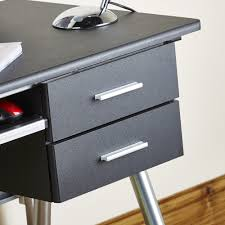 black modern style pc desk abreo home furniture