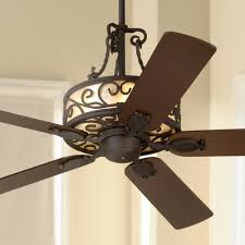 Ls Plus Ceiling Fans With Lights 60 Timberland Mica Collection Iron Ceiling Fan