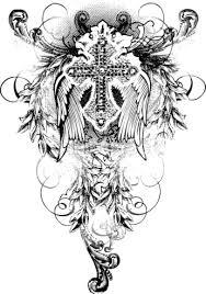 Small Tribal Cross - small tribal tattoos tribal cross designs tattoos