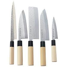 japanese kitchen knives set japanese magoroku kitchen knife 5pcs set sushi made in japan