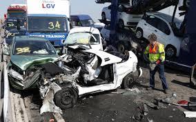 100 car pileup in uk business insider