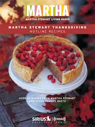 recipes martha stewart thanksgiving hotline cookbook bohemian