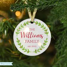 first christmas ornament personalized frosted glass ornament