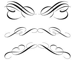 free calligraphic ornament clip free vectors ui