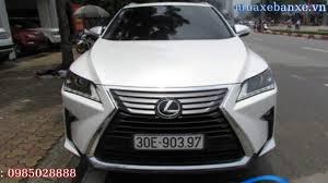 ban lexus rx200t bán xe lexus rx200t 2017 xe cũ màu trắng giá thỏa thuận tại hà
