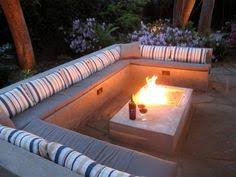 Firepit Seating The Secrets To The Best Backyards On Pinterest Outdoor Seating