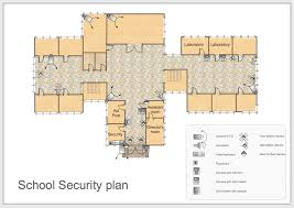 building plans security plan uncategorized conceptdraw