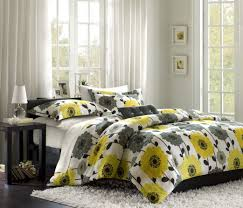 bedding set great yellow and grey bedding twin rare yellow and