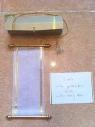 Scroll Invitation Rods Handmade Paper Greeting Cards Paper Invitation Cards Handmade