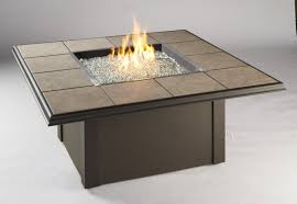 Fire Pit Square Napa Valley Fire Pit Table Black Or Brown Fire Pits