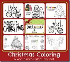 189 christmas coloring images coloring