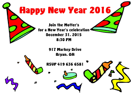 new year u0027s eve party invitations 2018