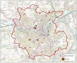 map uk bath allotments bathnes