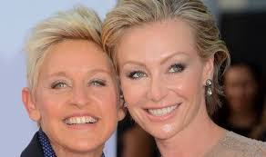 portia hair company it s just going to be ellen degeneres and portia de rossi and no