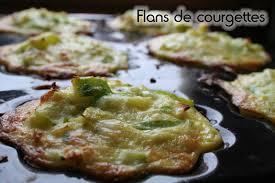 recette de cuisine courgette flans de courgettes j ai retrouvé la recette de cuisine