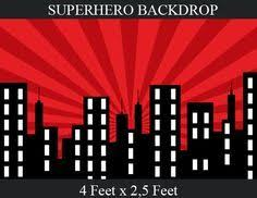 superhero backdrop backdrop batman bday party