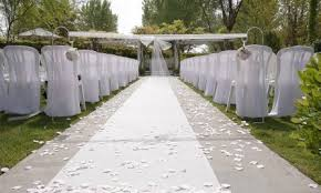 wedding runner tents fabric aisle runner
