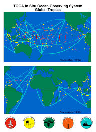 the tropical ocean global atmosphere observing system a decade of