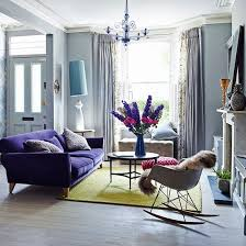 Living Room With Purple Sofa Purple Living Room Best 25 Purple Sofa Ideas On Pinterest