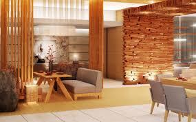 Wooden Interior Restaurant Archives Modern Design
