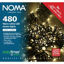 noma 480 led warm white cluster lights groves nurseries
