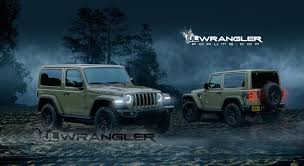 jeep angry headlights 2018 jeep wrangler jl masterfully rendered into reality