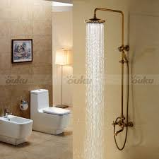 Antique Brass Bathroom Fixtures by Vintage Antique Brass Bathroom Shower Faucet Set 8