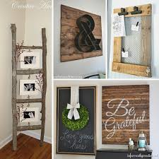Idea For Home Decoration Do It Yourself 31 Rustic Diy Home Decor Projects Refresh Restyle