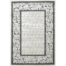 Damask Area Rug Black And White 3459 Black White Damask 5 U00272 X 7 U00272 Modern Abstract Area Rug Carpet