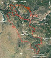 Map Of Central Oregon by Detwiler Fire Update July 21 2017 U2013 Wildfire Today