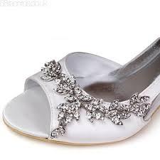 Wedding Shoes Mid Heel Satin Upper Mid Heel Strappy Sandals Wedding Bridal Shoes More