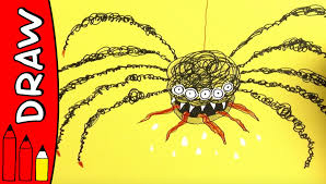 how to draw a spider halloween ideas for kids øistein