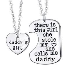 girl necklace pendant images There is this girl she stole my heart she calls me daddy pendant jpg