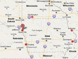 iowa map with cities iowa pilot cars professional certified pilot car service sioux