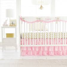 Bright Pink Crib Bedding by Crib Rail Cover Crib Rail Guard Crib Rail Protector