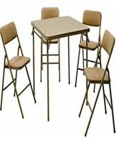 5 Piece Folding Table And Chair Set Save Your Pennies Deals On Hdx Folding Tables Resin Folding Chair