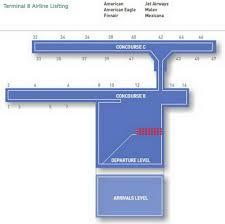 Jfk Map Airport Terminal Map Jfk Airport Terminal 8 Jpg