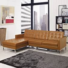 tufted leather sectional sofa outstanding brown leather u shaped sectional italian sofa design