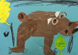 brown bear brown bear what do you see art project deep space