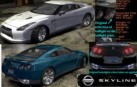 nissan skyline nfs carbon need for speed carbon nfs carbon nissan skyline r35 na