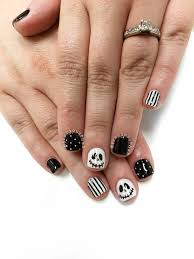 jack skellington nails halloween nails preciousphan precious