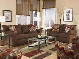 living room colors ideas with dark brown furniture interior design