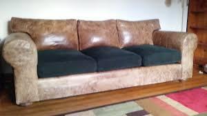 72 Leather Sofa Leather Sofa With Fabric Cushions 54 With Leather Sofa With Fabric