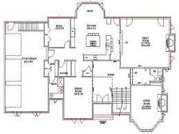 small walkout basement house plans front best house design small